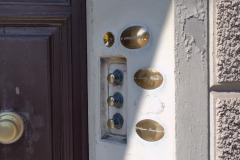 Doorbells in Pisa, Italy