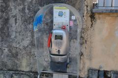 Public phone in Pisa, Italy