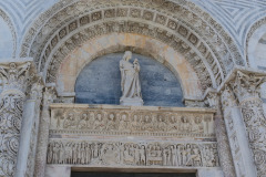 Door of the Cathedral of Pisa, Italy