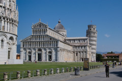 Cathedral of Pisa and Leaning Tower of Pisa, Italy