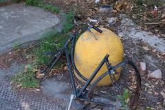 Bike remains in Pisa, Italy